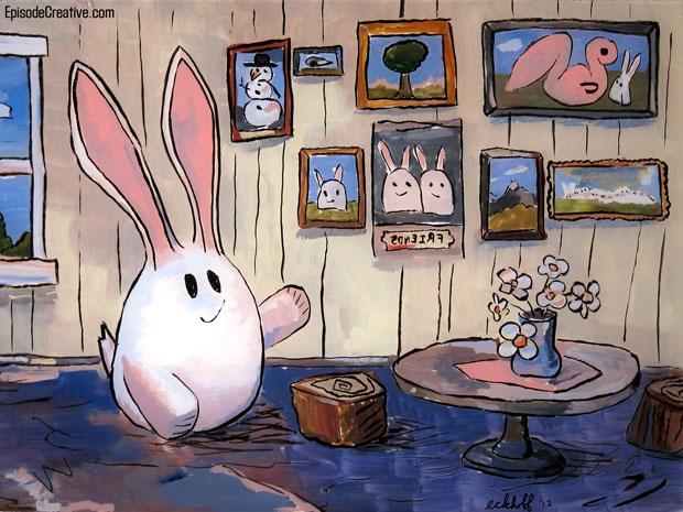 Squidgie Rabbit's Home